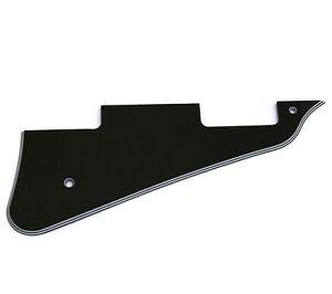 5-ply-Black-Pickguard-for-USA-Gibson-Les-Paul-Custom-Guitar-PG-0800-037