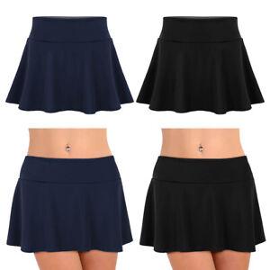Women-039-s-Bikini-Bottom-High-Waisted-Tankini-Swim-Skirt-Short-Beach-Dress-Swimwear
