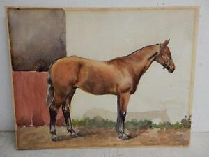 REALLY OLD PAINTING  PORTRAIT HORSE STABLE - <span itemprop='availableAtOrFrom'>Wakefield, United Kingdom</span> - no quibble 14 day, full refund on return of goods, buyer pays return postage - <span itemprop='availableAtOrFrom'>Wakefield, United Kingdom</span>