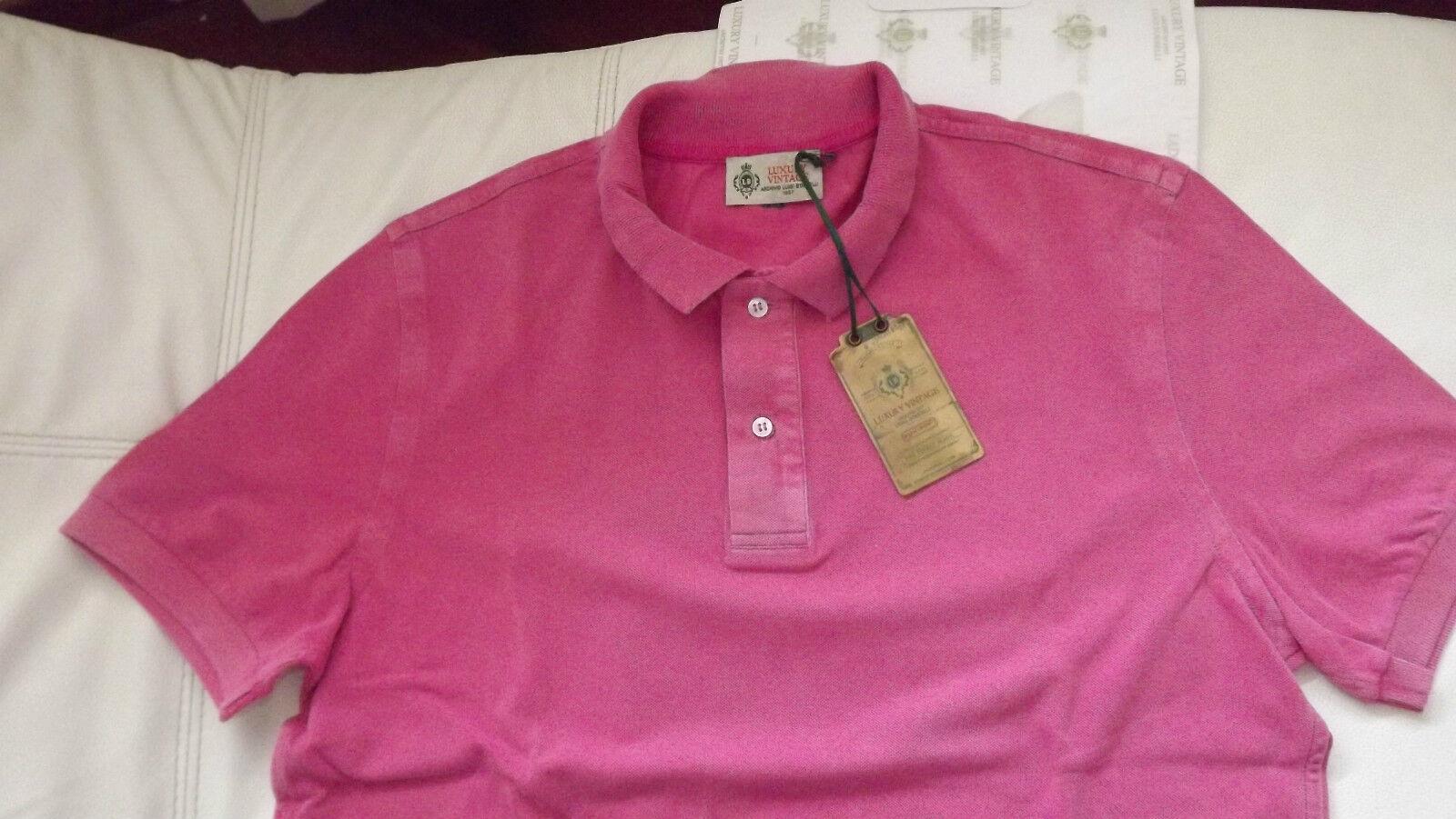 Borrelli NAPOLI REAL CASA Polo Shirt Cotton Honeycomb Größes 50 210,00 caertell logo.