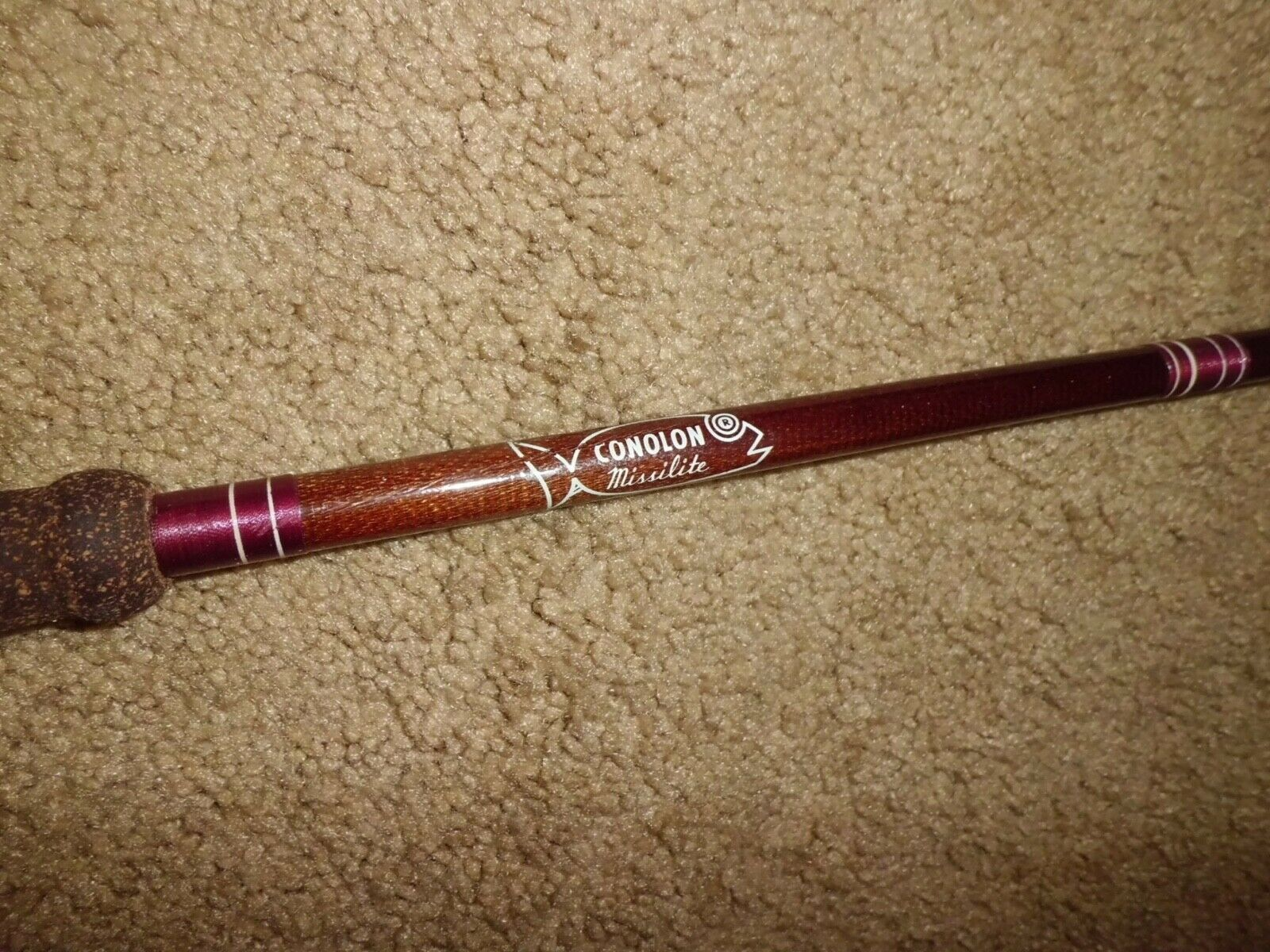 Vintage CONOLON Missilite Conventional 6'9 Rod made in USA