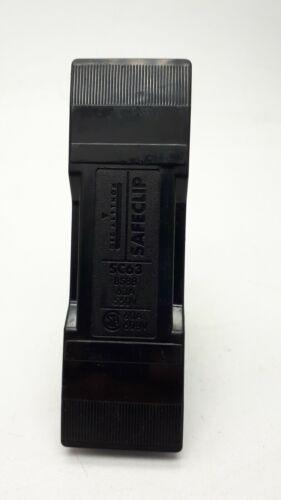 GEC Alsthom safeclip tipo SC63 Fusible Portador 63AMP NS FUSELINK
