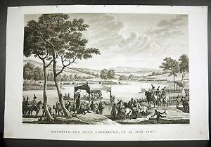 La-Meets-Of-Napoleon-And-Alexander-On-The-Niemen-The-25-June-1807-Swebach-1815