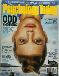Details about Psychology Today February 2016 Odd Emotions Renegade Genius  FREE SHIPPING sb
