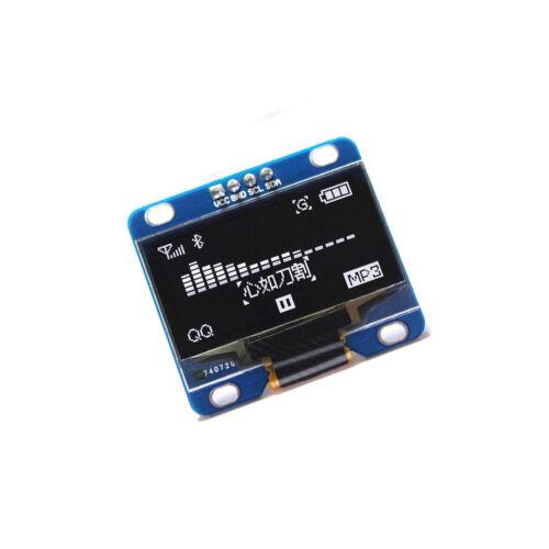 "1PCS White 3-5V 0.96/"" I2C Serial 128X64 OLED LCD LED Display Module for Arduino"