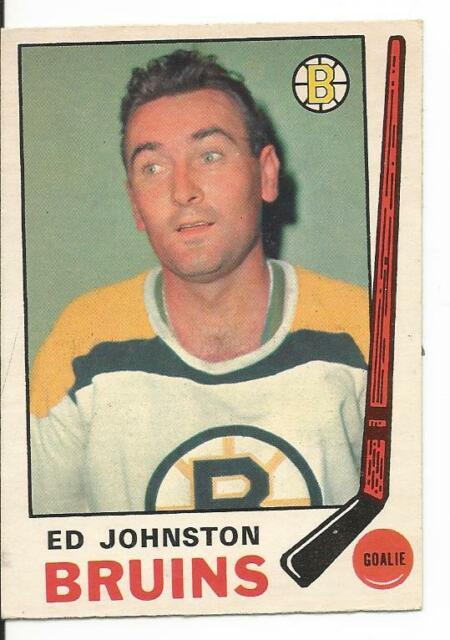 1969-70 OPC O-Pee-Chee Ed Johnston #200 (Excellent)