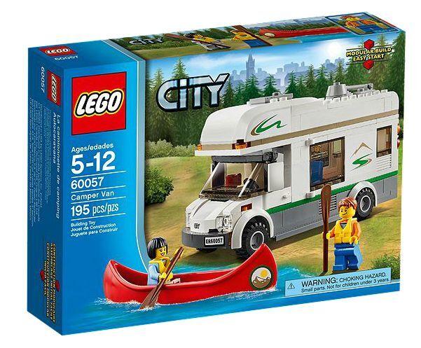 LEGO® City 60057 Wohnmobil mit Kanu NEU OVP_ Camper Van NEW MISB NRFB