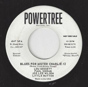 LOU-GOSSETT-Blues-For-Mister-Charlie-2-Powertree-149-NORTHERN-SOUL1964-45RPM