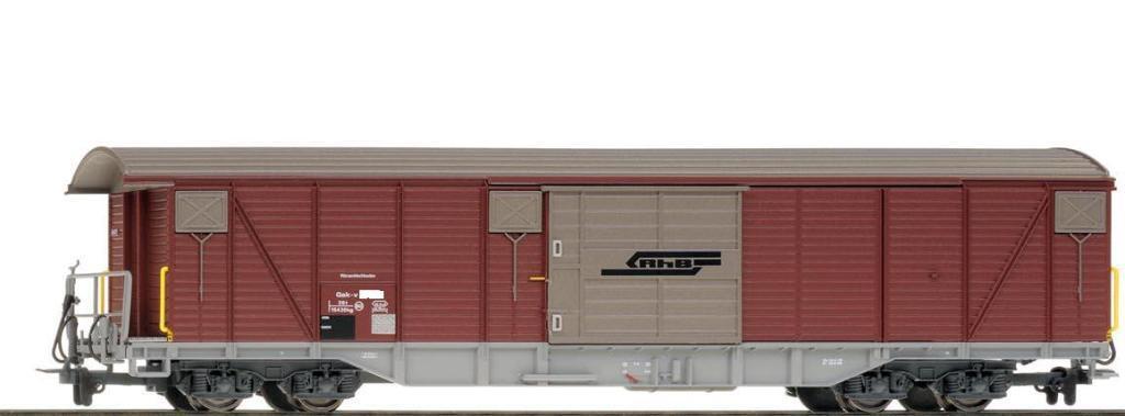 BEMO 2278 176/2278176 RhB il  GAK  - V 5416 conurbazione carri merci traccia h0m NUOVO