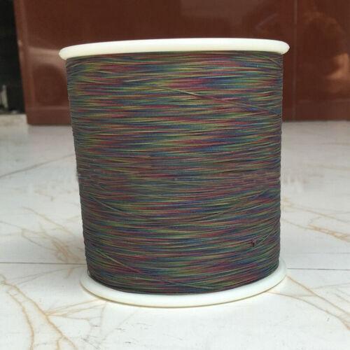 100m//500m Fil à coudre polyester nuit coloré réfléchissant pour vêtement de sécurité
