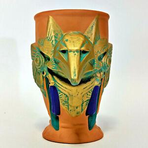 Stargate-Anubis-Figural-Mug-Ceramic-1994-by-Applause-in-original-box-VINTAGE