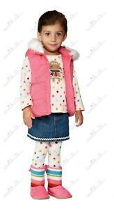GIRLS-SIZE-3T-GYMBOREE-GINGERBREAD-GIRL-LOT-SHIRT-SKIRT-HOODIE-VEST-BOOTS-NWT
