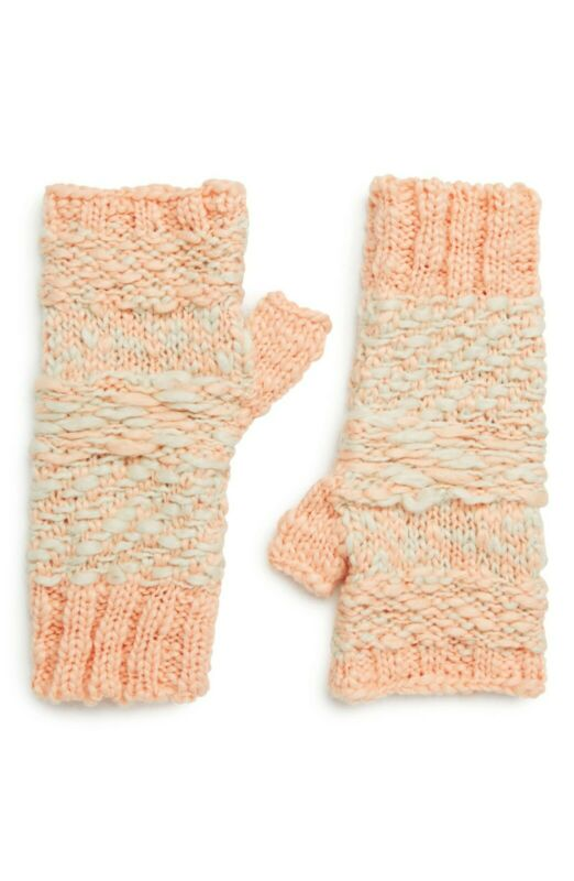 Ambitious Free People (anthropologie) Nwt Women's Keep Cozy Fingerless Gloves, One Size