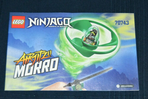 Lego Ninjago 70743 Airjitzu Morro Instructions Manuel D