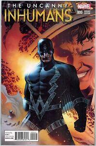 Uncanny Inhumans #1 Marvel Blank Variant