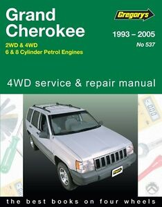 gregory s service repair manual jeep grand cherokee zj wj 1993 05 rh ebay com User Manual User Manual PDF