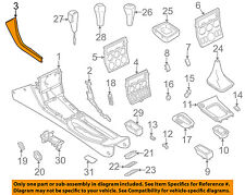 bmw oem 98-02 z3 front center console-side trim panel left 51162491375