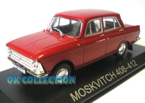 1:43 MOSKVITCH 408-412 /_ DeAgostini Collection