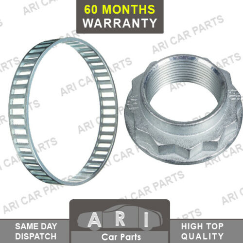 L322 FRONT LANDROVER RANGE ROVER ABS RELUCTOR RING AXLE HUB NUT 02-12