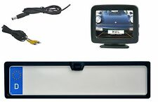 """Nummernschildkamera & 3.5 """" Monitor passend für VW Fahrzeuge"""