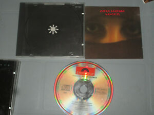 Vangelis-Opera-Sauvage-Cd-Compact-Disc-Complete-Tested