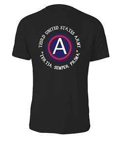 "Cotton Shirt-10677 3rd Army /""ARCENT/"""