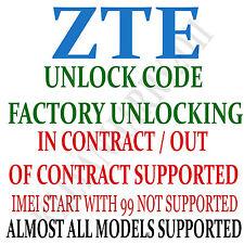 Unlock Code for ZTE MF61 NetworkUnlock Code-SIMUnlock Pin