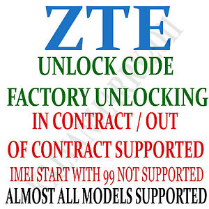 ZTE-Unlock-Code-Service-Z990-AT-amp-T-ATT-Fast-Service-SIM-NETWORK-UNLOCK-PIN