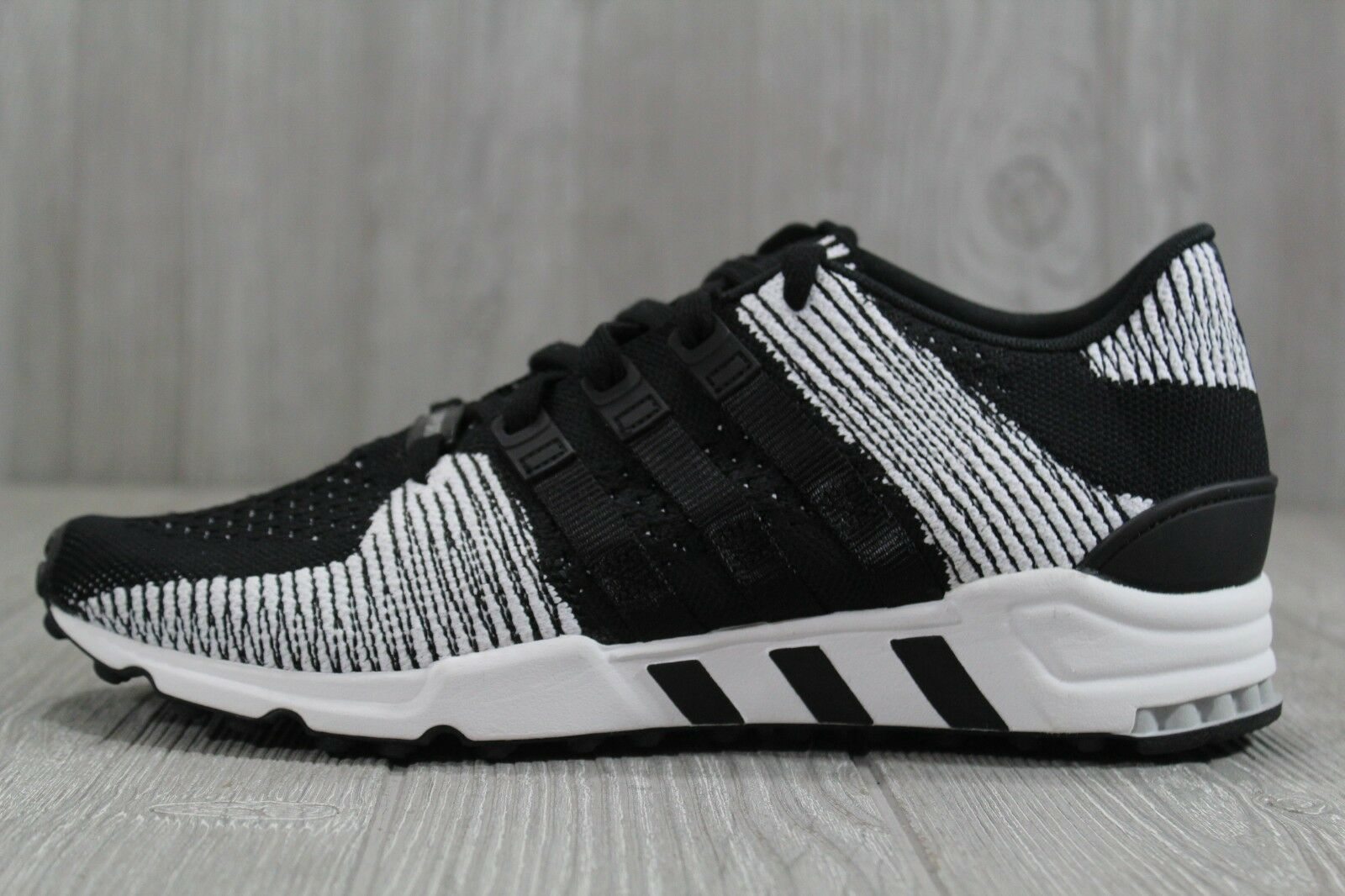 35 Adidas Originals Equipment Support RF PK Black White shoes Mens BY9689 9.5-11