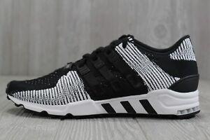 63 Adidas Originals Equipment Support RF PK Black White Shoes Mens BY9689 9.5