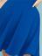 Lane-Bryant-Strappy-Shoulder-Fit-amp-Flare-Dress-Plus-22-24-26-28-True-Blue-3x-4x thumbnail 3