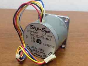 Sanyo denki step syn stepping motor type 103g771 0443 for Step syn sanyo denki stepping motor datasheet