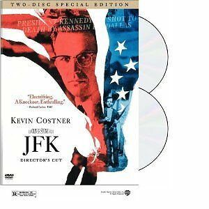 Brand-New-DVD-JFK-Director-039-s-Cut-Two-Disc-Special-Ed-Kevin-Costner-Tommy-Lee