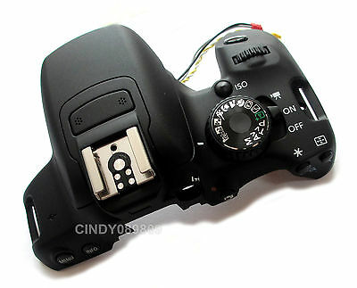New Top Cover Head Flash Shell For Canon EOS 650D Rebel T4i EOS Kiss X6i SLR