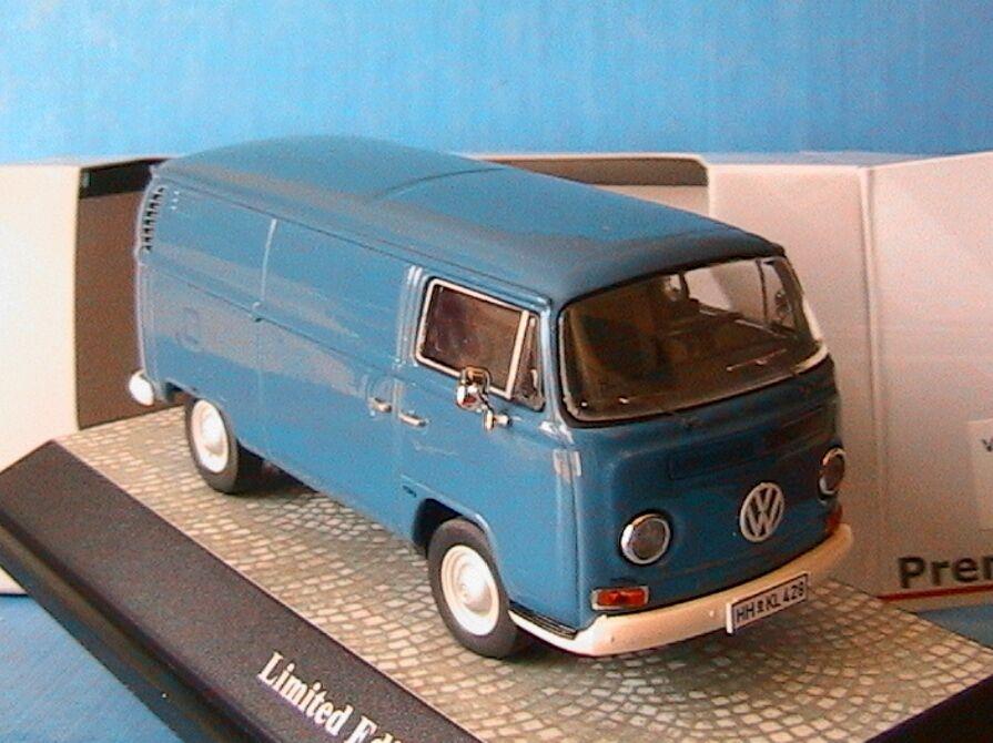 VOLKSWAGEN BULLIT VW T2 KASTENWAGEN NEPTUNE blu PREMIUM CLASSIXXS 11260