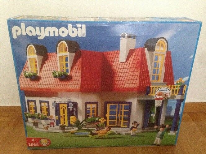 Playmobil 3965 Modern House Hard to Find New unused