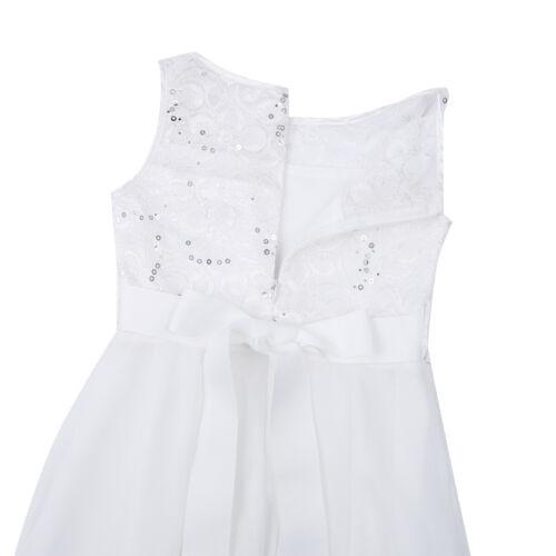 UK/_Flower Girls Dress Bridesmaid Party Wedding Pageant Princess Child Tutu Skirt