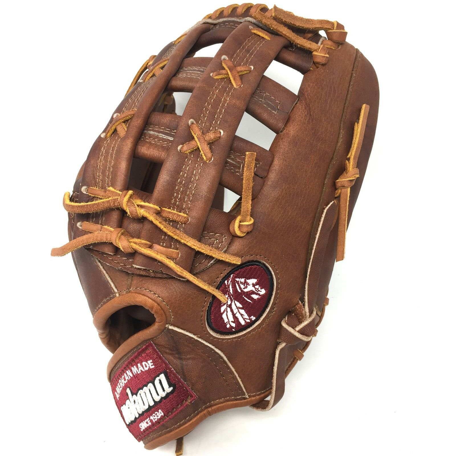 WB-1275H-RightHandThrow Nokona Walnut Glove 12.75 Baseball Glove Walnut WB-1275H Outfield a370b4