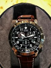 New Citizen Eco-Drive Chronograph Mens Watch MSRP $415.00