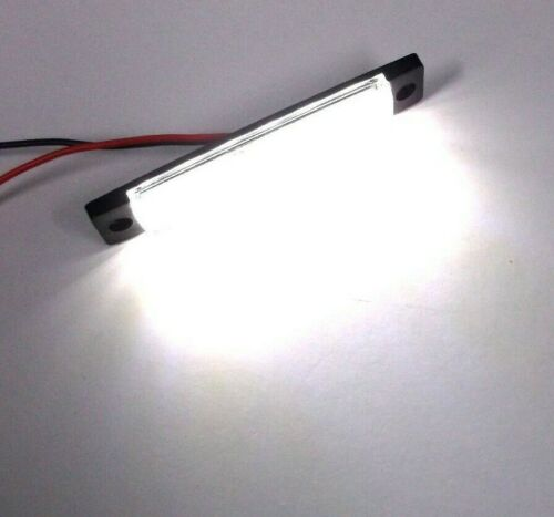 3 Large BBT Marine Grade 12 volt Waterproof Cool White LED Accent Lights