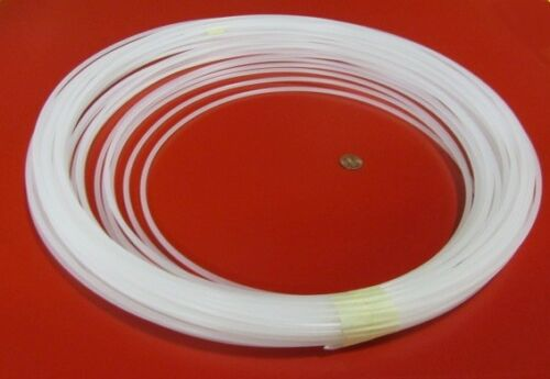 Natural Tint Polypropylene Natural Welding Rod Coil 4mm Diameter 1 Lb.