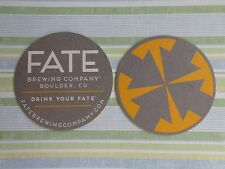 ARIZONA ~/>/<~ In Your Hands! Beer Coaster ~**~ FATE Brewing Company ~ Scottsdale