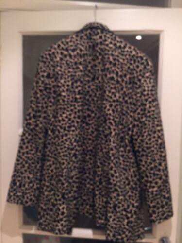 Jacket Print Leopard Apart Size L qRznw