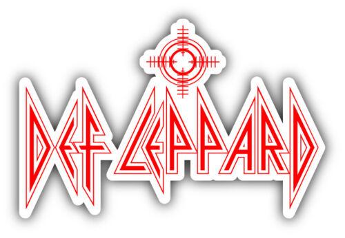 Def Leppard Music Car Bumper Sticker Decal 3/'/' 5/'/' or 6/'/'