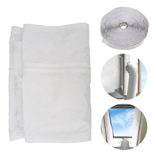 AirLock Mobile Klimaanlage Fensterabdichtung 400cm Wohnzimmer Cloth Klimagerät
