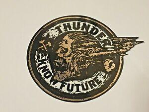 Thunder Trucks, Skateboard Sticker, Original Factory, Gold ...