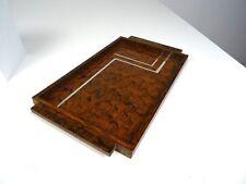 ORIGINAL ART DECO SERVIER TABLETT FRANKREICH 1930 COCKTAIL TABLETT BAR CHROM