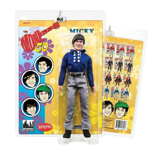 The Monkees 12 in Micky Dolenz style rétro action figures Blue Band Tenue environ 30.48 cm