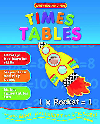 """""""VERY GOOD"""" Times Tables (Lets Learn) (Tiny Tots Easels), Igloo Books Ltd, Book"""