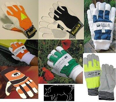 5 X Keiler-forst Handschuhe 5 Verschiedene Modelle Neu Keiler Handschuhe